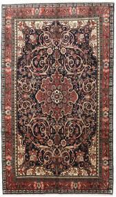 Bijar Tapete 195X330 Oriental Feito A Mão Castanho Claro/Preto (Lã, Pérsia/Irão)