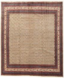 Sarough Matto 222X267 Itämainen Käsinsolmittu Vaaleanruskea/Beige (Villa, Persia/Iran)
