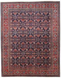 Mahal Covor 212X265 Orientale Lucrat Manual Mov Închis/Roșu-Închis (Lână, Persia/Iran)