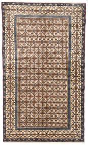 Hamadan Covor 128X217 Orientale Lucrat Manual Maro Deschis/Bej (Lână, Persia/Iran)