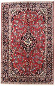 Kashan Covor 148X230 Orientale Lucrat Manual Maro/Gri Deschis (Lână, Persia/Iran)