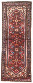 Hamadan Teppich  73X200 Echter Orientalischer Handgeknüpfter Läufer Dunkelblau/Dunkelrot (Wolle, Persien/Iran)