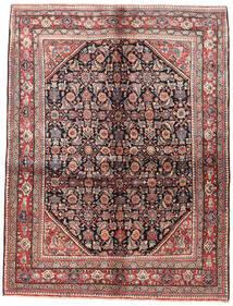 Sarough Matta 162X210 Äkta Orientalisk Handknuten Mörkbrun/Brun (Ull, Persien/Iran)