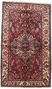Bachtiar Teppich 145X240 Echter Orientalischer Handgeknüpfter Dunkelrot/Dunkelblau (Wolle, Persien/Iran)