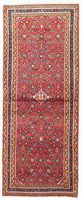 Hosseinabad Teppich 73X185 Echter Orientalischer Handgeknüpfter Läufer Rost/Rot/Hellbraun (Wolle, Persien/Iran)