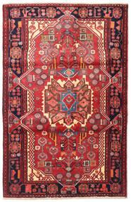 Nahawand Dywan 118X180 Orientalny Tkany Ręcznie Ciemnofioletowy/Rdzawy/Czerwony (Wełna, Persja/Iran)
