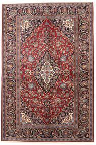Keshan Teppich 138X207 Echter Orientalischer Handgeknüpfter (Wolle, Persien/Iran)