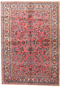 Sarouk Rug 165X230 Authentic  Oriental Handknotted Light Pink/Brown (Wool, Persia/Iran)