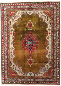 Ardebil Rug 195X270 Authentic  Oriental Handknotted Brown/Dark Brown (Wool, Persia/Iran)