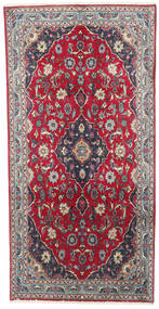 Kashmar Matto 100X200 Itämainen Käsinsolmittu Tummanvioletti/Beige (Villa, Persia/Iran)