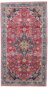 Kashmar Rug 117X215 Authentic  Oriental Handknotted Light Grey/Purple (Wool, Persia/Iran)