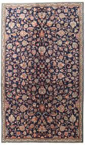 Sarouk Rug 155X265 Authentic  Oriental Handknotted Dark Purple/Dark Grey (Wool, Persia/Iran)