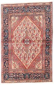 Jozan Matta 107X160 Äkta Orientalisk Handknuten Beige/Lila (Ull, Persien/Iran)