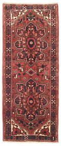 Heriz Teppich  80X195 Echter Orientalischer Handgeknüpfter Läufer Braun/Dunkelrot (Wolle, Persien/Iran)