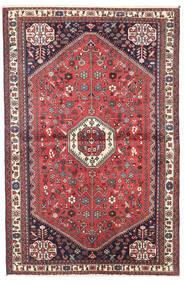 Abadeh Teppich 98X150 Echter Orientalischer Handgeknüpfter Dunkelrot/Dunkelbraun (Wolle, Persien/Iran)
