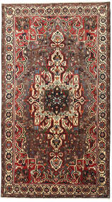 Bachtiar Teppich  167X305 Echter Orientalischer Handgeknüpfter Dunkelrot/Hellbraun (Wolle, Persien/Iran)