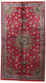 Kashmar Teppich  125X224 Echter Orientalischer Handgeknüpfter Dunkelbraun/Braun (Wolle, Persien/Iran)