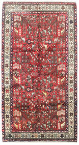 Rudbar Covor 105X200 Orientale Lucrat Manual Albastru Închis/Roșu-Închis (Lână, Persia/Iran)