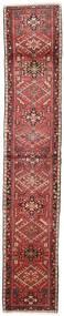 ヘリーズ 絨毯 68X370 オリエンタル 手織り 廊下 カーペット 深紅色の/濃い茶色 (ウール, ペルシャ/イラン)