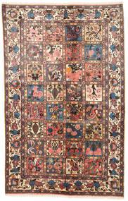 Bakhtiar Alfombra 125X200 Oriental Hecha A Mano Marrón Claro/Marrón Oscuro (Lana, Persia/Irán)