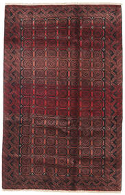 Baluch Rug 130X180 Authentic  Oriental Handknotted Dark Brown/Dark Red (Wool, Persia/Iran)