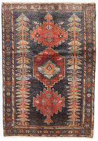 Hamadan Vloerkleed 130X185 Echt Oosters Handgeknoopt (Wol, Perzië/Iran)
