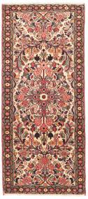 Hamadan Alfombra 82X190 Oriental Hecha A Mano Marrón Claro/Marrón Oscuro (Lana, Persia/Irán)