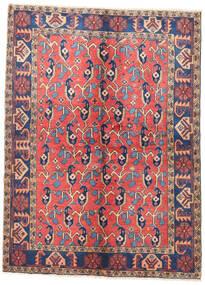 Wiss Dywan 157X210 Orientalny Tkany Ręcznie Rdzawy/Czerwony/Brązowy (Wełna, Persja/Iran)