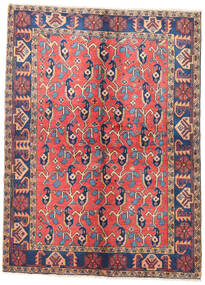 Wiss Alfombra 157X210 Oriental Hecha A Mano Óxido/Roja/Marrón (Lana, Persia/Irán)