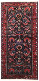 Saveh Covor 110X230 Orientale Lucrat Manual Roșu-Închis/Roşu (Lână, Persia/Iran)