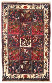 Bakhtiar Matta 105X166 Äkta Orientalisk Handknuten Brun/Mörkbrun (Ull, Persien/Iran)