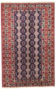 Baluch Patina Rug 132X206 Authentic  Oriental Handknotted Dark Purple/Dark Red (Wool, Persia/Iran)