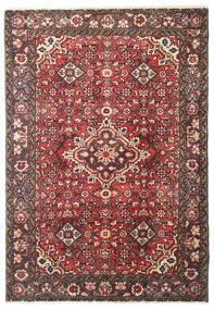 Hosseinabad Tappeto 106X153 Orientale Fatto A Mano Marrone Scuro/Marrone (Lana, Persia/Iran)