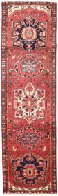 ヘリーズ 絨毯 89X316 オリエンタル 手織り 廊下 カーペット 茶/錆色 (ウール, ペルシャ/イラン)
