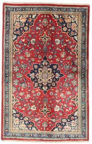 Kashmar Rug 121X188 Authentic  Oriental Handknotted Rust Red/Purple (Wool, Persia/Iran)