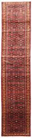 Hosseinabad Szőnyeg 85X390 Keleti Csomózású Sötétpiros/Sötétbarna (Gyapjú, Perzsia/Irán)