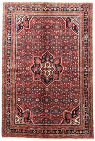 Hosseinabad Matta 155X230 Äkta Orientalisk Handknuten (Ull, Persien/Iran)