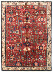 Nahavand Alfombra 160X222 Oriental Hecha A Mano (Lana, Persia/Irán)