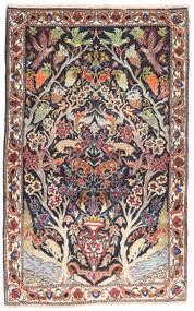Bakhtiari Rug 105X170 Authentic Oriental Handknotted Dark Purple/Light Pink (Wool, Persia/Iran)