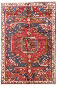 Baktjar Dywan 135X205 Orientalny Tkany Ręcznie Ciemnoczerwony/Rdzawy/Czerwony (Wełna, Persja/Iran)
