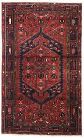 Zanjan Matto 120X195 Itämainen Käsinsolmittu Tummanpunainen/Tummanruskea (Villa, Persia/Iran)