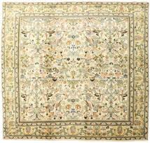 Tabriz Alfombra 220X235 Oriental Hecha A Mano Cuadrada (Lana, Persia/Irán)