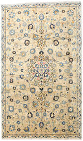Yazd Matta 180X308 Äkta Orientalisk Handknuten Beige/Mörkbeige (Ull, Persien/Iran)
