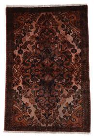 Hamadan Rug 100X150 Authentic  Oriental Handknotted Dark Brown/Beige (Wool, Persia/Iran)
