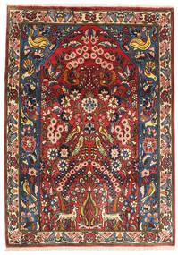 Bakhtiar Szőnyeg 117X165 Keleti Csomózású Sötétpiros/Sötétkék (Gyapjú, Perzsia/Irán)