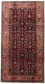 Lillian Rug 165X317 Authentic  Oriental Handknotted Dark Red/Black (Wool, Persia/Iran)