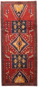 Ardabil Alfombra 145X335 Oriental Hecha A Mano Rojo Oscuro/Púrpura Oscuro (Lana, Persia/Irán)