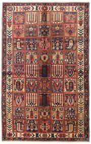 Hamadan Vloerkleed 160X250 Echt Oosters Handgeknoopt Donkerbruin/Donkerrood (Wol, Perzië/Iran)