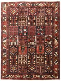 Bakhtiari Rug 200X265 Authentic Oriental Handknotted Dark Brown/Dark Red (Wool, Persia/Iran)