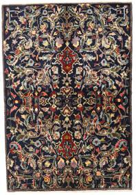 Najafabad Matta 155X220 Äkta Orientalisk Handknuten Mörkblå/Mörkbrun (Ull, Persien/Iran)